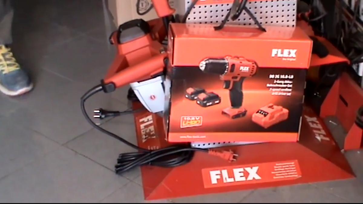 Παρουσίαση εργαλείων flex