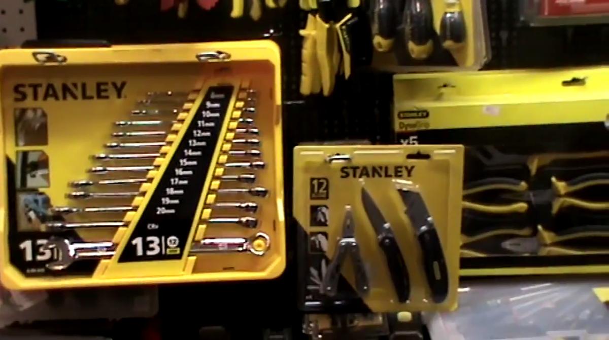 Παρουσίαση εργαλείων Stanley