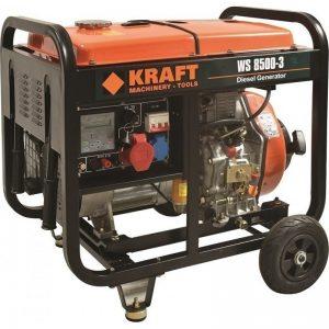 KRAFT Ηλεκτρογεννήτρια πετρελαίου